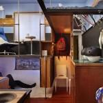 Kaip Lėktuvų Interjero Dizaineris Pavertė Mikro Butuką į Jaukius Namus