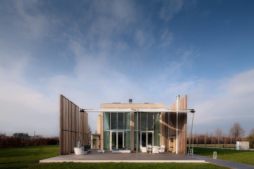 Statybai naudotos ekologiskos ir perdirbamos medziagos